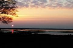Päikeseloojang merel